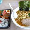 刻乃家 - 料理写真:ラーメン(490円)と持ち込み弁当