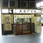 大江戸そば - 常磐線快速のホーム(9・10番線)