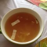 プランタンカフェレストラン - 玉ねぎたっぷりスープ