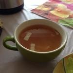 プランタンカフェレストラン - 結構大きいスープ