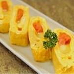 Bar Q - 明太チーズの出汁巻き玉子  750円