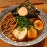 麺屋 すずらん - #262 @Wスープ(豚・鶏+魚介)醤油らーめん750円
