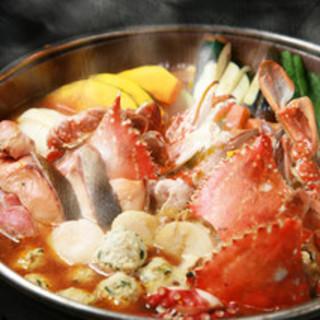 【各種宴会に!】魚介の旨みたっぷり入った濃厚スープ
