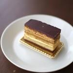フェーブ・ド・カカオ - 新作のケーキ(370円)