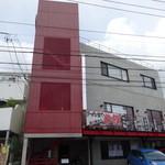 老李 - コンクリ3階建ての建物
