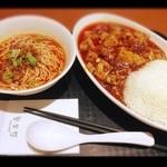21349474 - 陳麻婆豆腐・半正宗担々麺☆