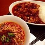 21349477 - 陳麻婆豆腐・半正宗担々麺☆