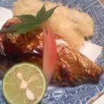 和 つじ - 鱧の天ぷらと鯖焼き