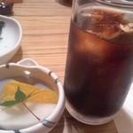 和 つじ - 食後のデザートとコーヒー