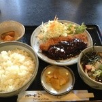 21350190 - 味噌チキンカツ定食