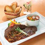 ABBOT KiNNEY - 牛肩ロース肉のステーキ 1,500円