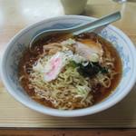 湧貴苑 - 料理写真:冷たいラーメン 480円
