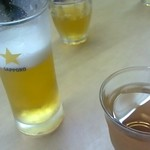 縁むすび - ビールにジャスミンティー