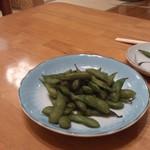 21356052 - 秋田どんばん茶豆 ¥280
