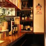 Wine Bar Latino - カウンター奥