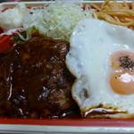 東京厨房 - ハンバーグ弁当