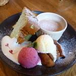フラワーファーム - デザート(+350円)