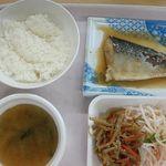 福島大学 食堂 - 料理写真:とんちゃんの本日のランチ