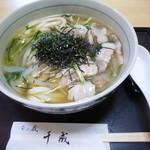 Sennari - 肉うどん900円