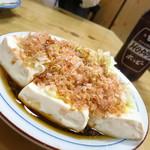 太田屋 - 湯豆腐400円 これが横須賀湯豆腐発祥の湯豆腐!