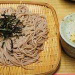 河新 - ざる蕎麦大盛り