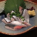 山利喜 - 料理写真:新秋刀魚の刺身