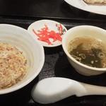 21364050 - 喜多方ラーメン 坂内・ミニチャーハン