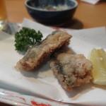 京のおばんざい わらじ亭 - 秋刀魚竜田揚げ