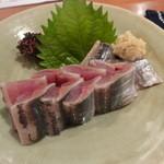 和 - 秋刀魚のお造り