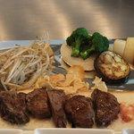 ビフテキのカワムラ - 料理写真: うぁ~!美味そう^-^
