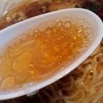 東華園 - 生姜香るコクの醤油スープ