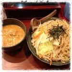 21368814 - 濃厚肉味噌 つけ麺 大盛り ¥830