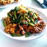 中国料理大山 - ニラ玉