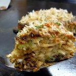 千草 - ここのお好み焼きは美味しいですよ~。焼きそばも最高です。