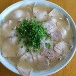 ラーメン げんこつ家 - チャーシュー麺(2013.9中旬)