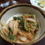 福寿苑荒川沖本店 - キムチ¥350