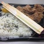 たこ厨房 - 料理写真:唐揚げ弁当(300円)