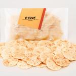 海老萬 - 「たまねぎ」発売以来大好評! ホントにたまねぎの味なんです。 和紙小袋216円(40g)