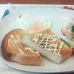 プチドゥル - 料理写真:トーストプレート