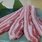 焼肉の牛子 - サムギョプサル