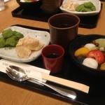 神戸風月堂カフェ - 20130911 ふたつわらび