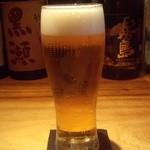 京都 五行 - 『生ビール』(350円)~♪(^o^)丿