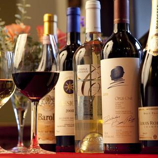 ソムリエ厳選の美味しいワインがリーズナブルなお店です!