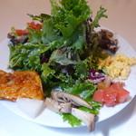 バンビーナ - ランチセットのサラダ