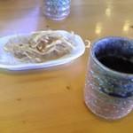 蕎麦の茶屋 丸山 - そば煎餅 & 蕎麦茶