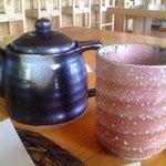 蕎麦の茶屋 丸山 - そば湯 土瓶 & 蕎麦茶