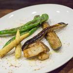 ユーロバル マテーラ - グリル野菜 盛り合わせ 980円