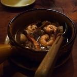 グラナダ - 小エビとマッシュルームのピルピル