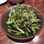 のぶちゃん - クレソンサラダ