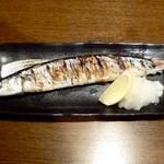 旬鮮酒場 Dank - 新さんま塩焼¥690 2013.9.12